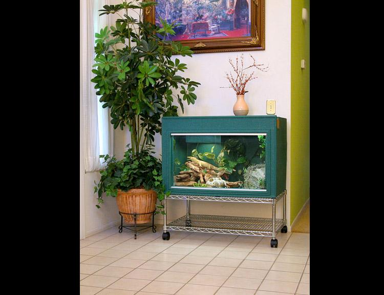 Diy Reptile Cage Stand Home Design