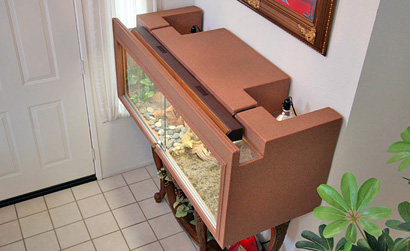 Bearded Dragon Cage - Plastic Cage - Reptile Supplies